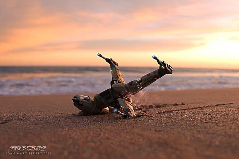 """Star Wars """"beach stories"""" -1"""