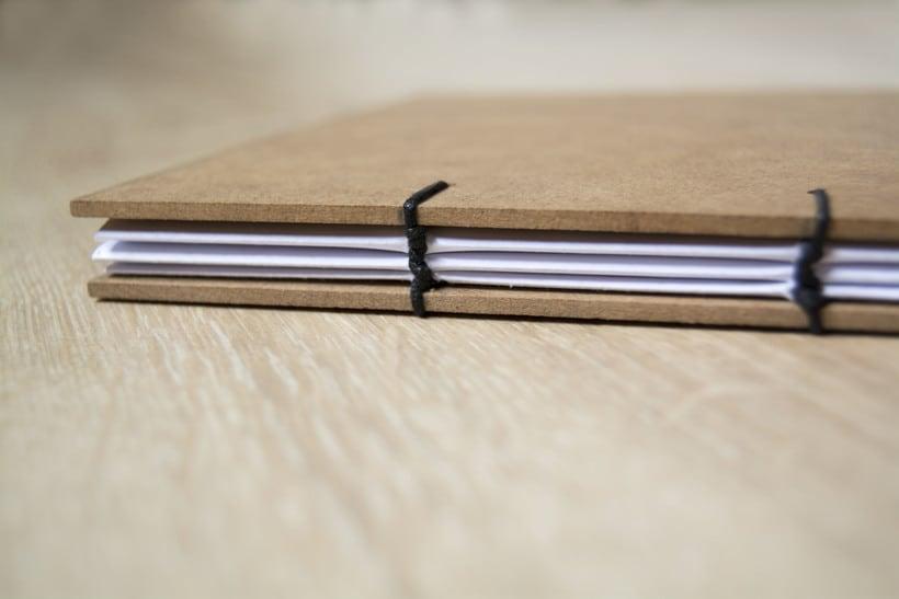 Técnicas de Encuadernación DIY - Dossier, Libreta y Cuaderno de apuntes 3