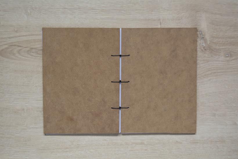 Técnicas de Encuadernación DIY - Dossier, Libreta y Cuaderno de apuntes 2