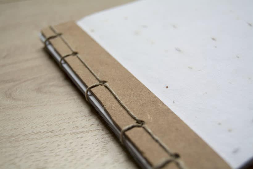Técnicas de Encuadernación DIY - Dossier, Libreta y Cuaderno de apuntes 1