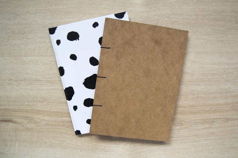 Técnicas de Encuadernación DIY - Dossier, Libreta y Cuaderno de apuntes 4