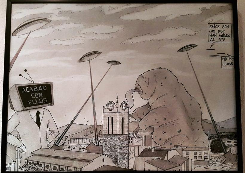 Mi city & the monsters 8