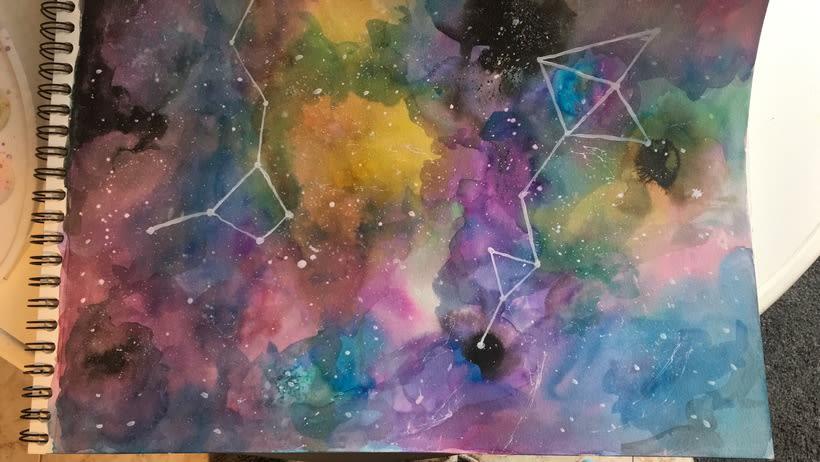Mi Proyecto del curso: Técnicas modernas de Acuarela 2