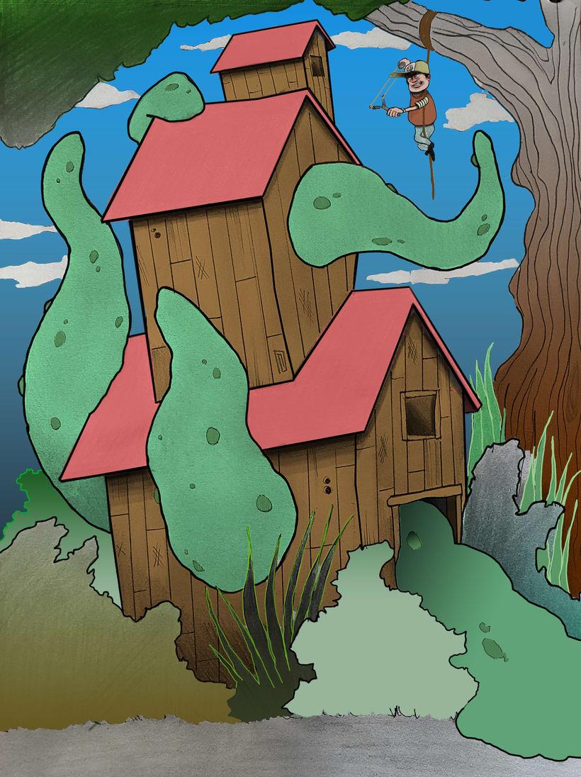 Serie naturaleza, gatetes y monstruos 3