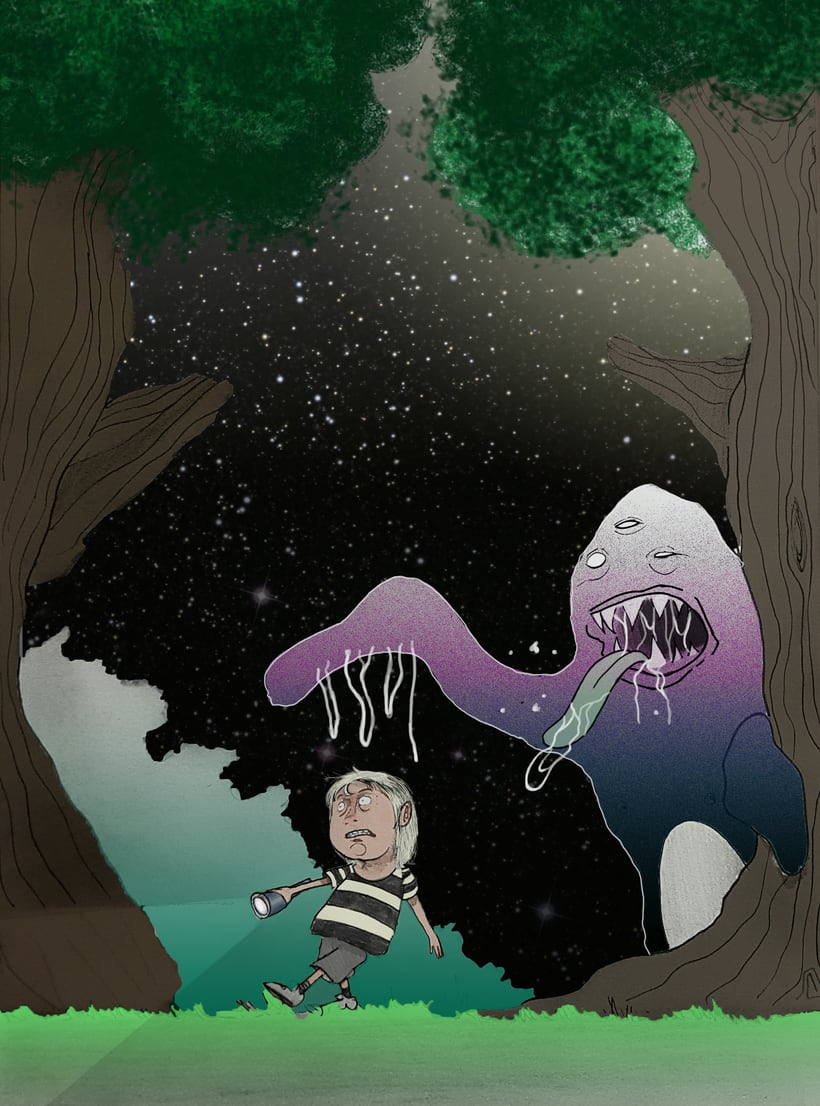 Serie naturaleza, gatetes y monstruos 4