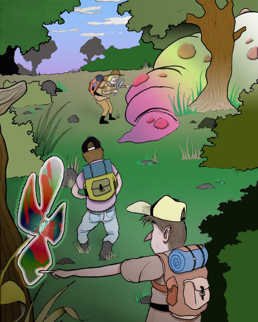Serie naturaleza, gatetes y monstruos 7