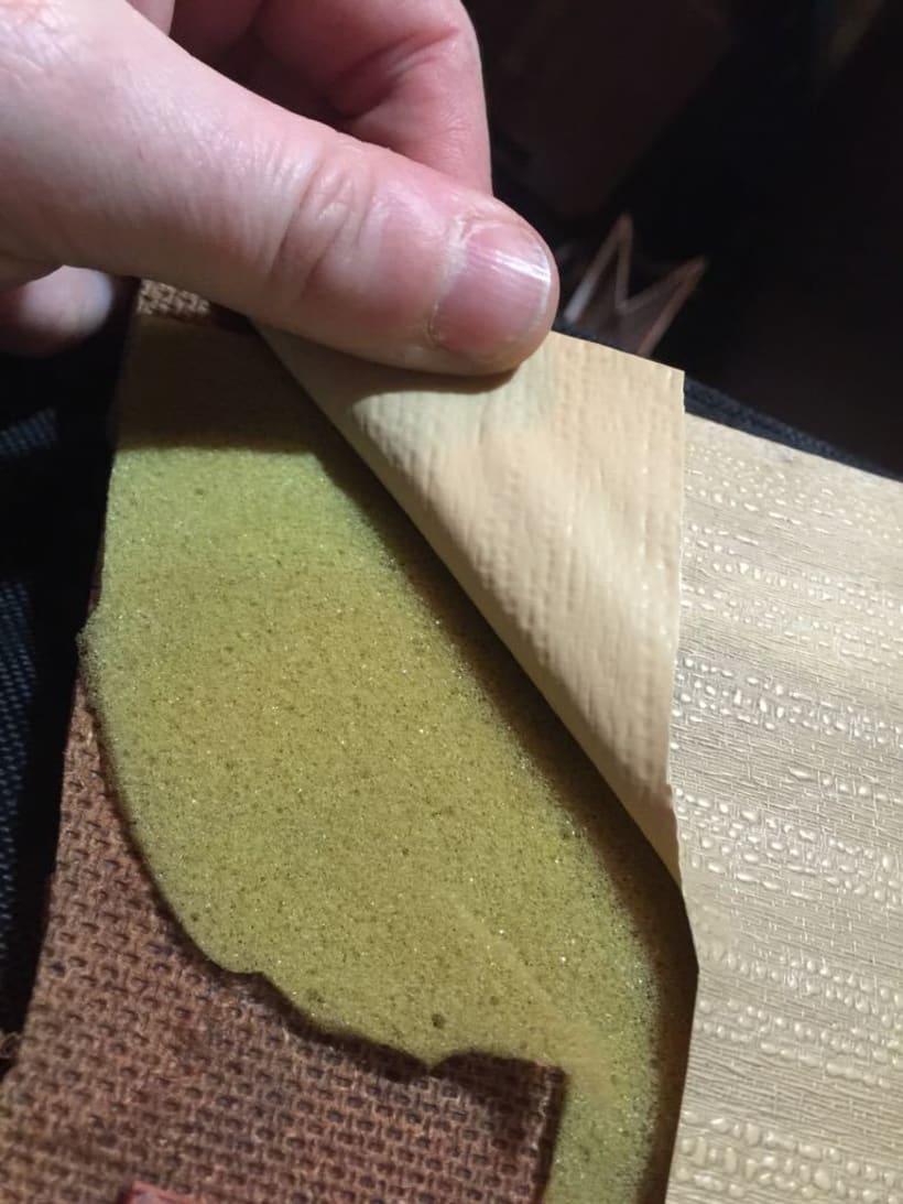 Impresión con relieve / gofrado sobre tela o vinilo 2