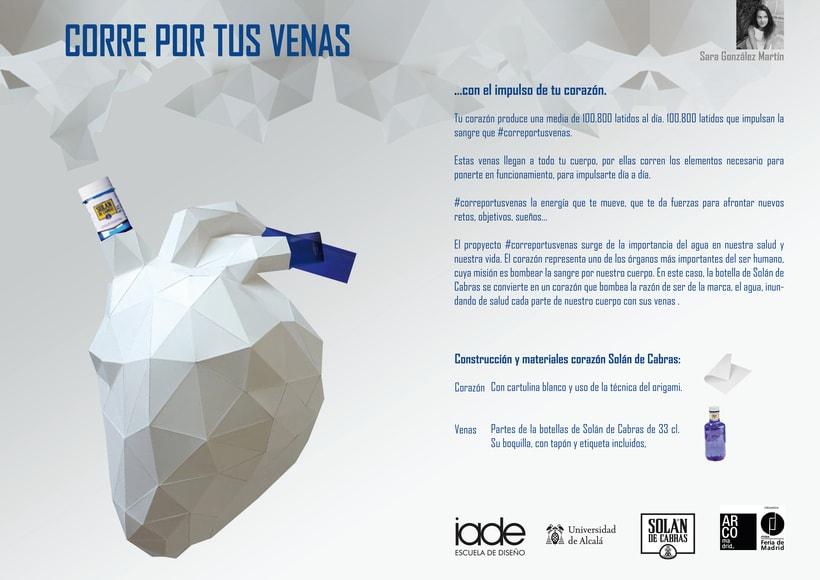 Maqueta stand Solán de Cabras en Arco Madrid -1