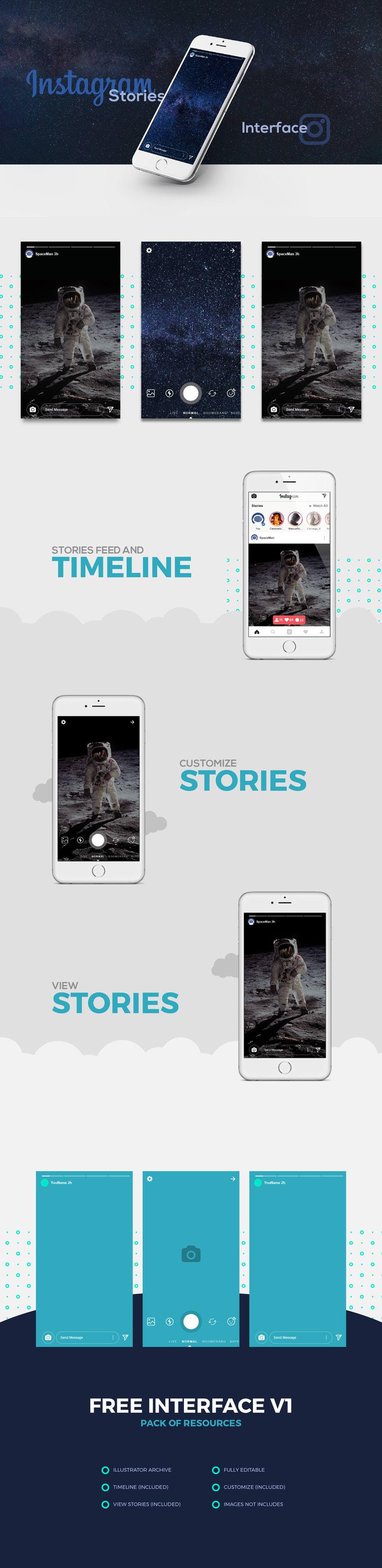 Instagram Stories Template  0