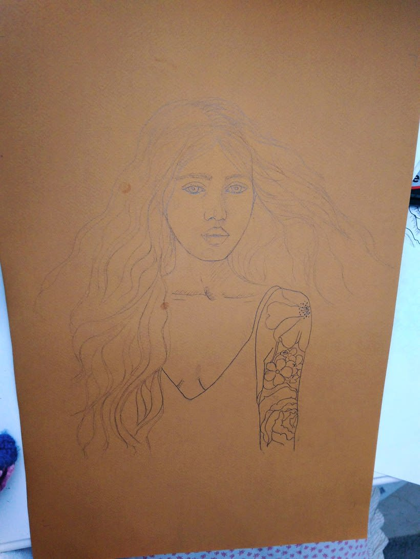 Mi Proyecto del curso: Ilustración con pastel y lápices de colores 0