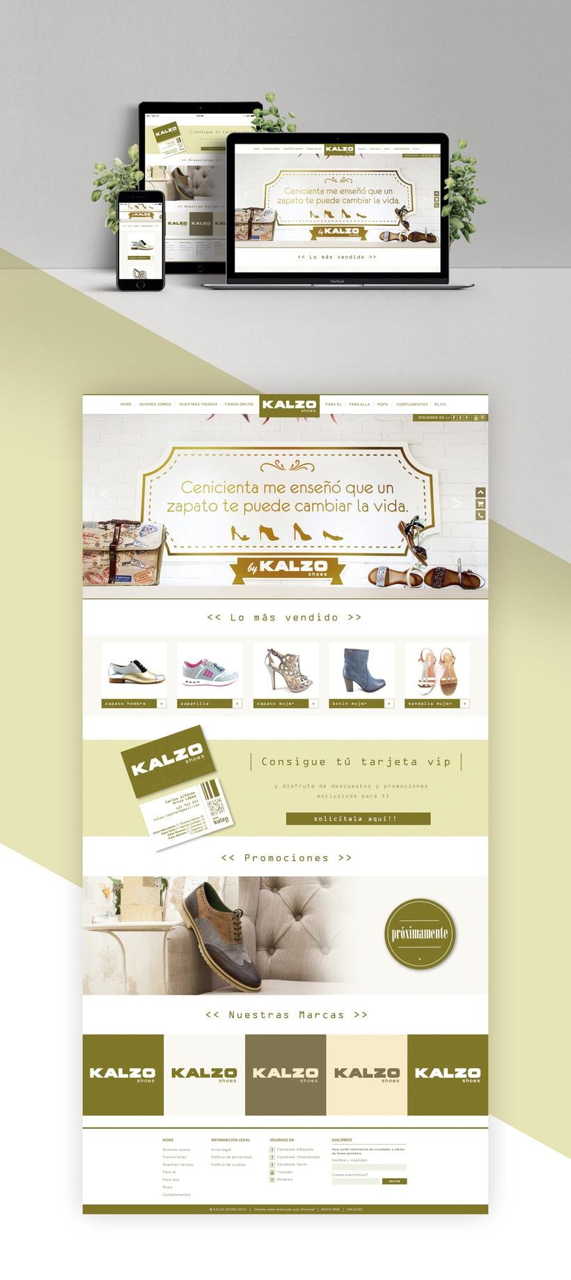 Diseño web Kalzo -1