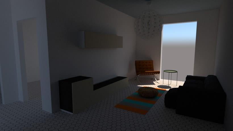 Mi Proyecto del curso: Iniciación al diseño de interiores 0