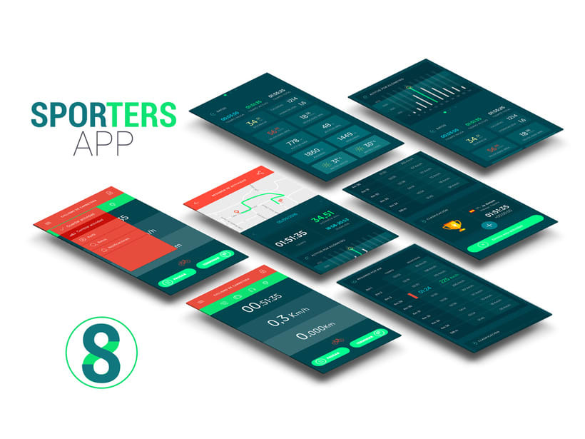 Prototipado App móvil deportiva 1