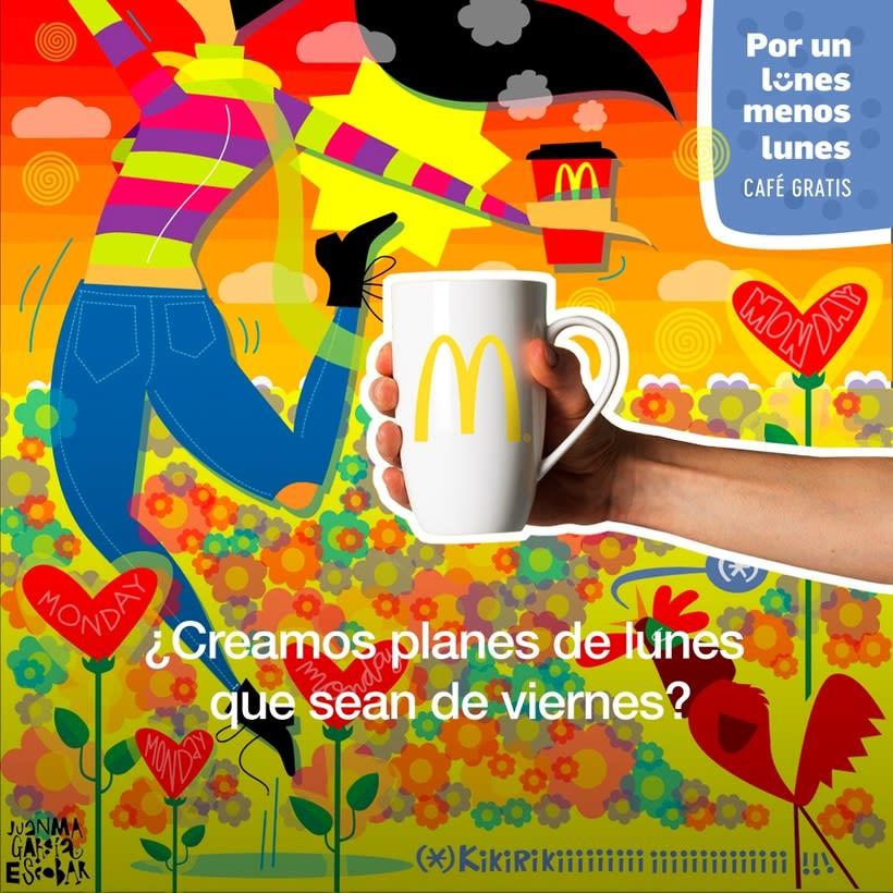 """McDonald's """"Por un lunes  menos lunes"""" 2"""