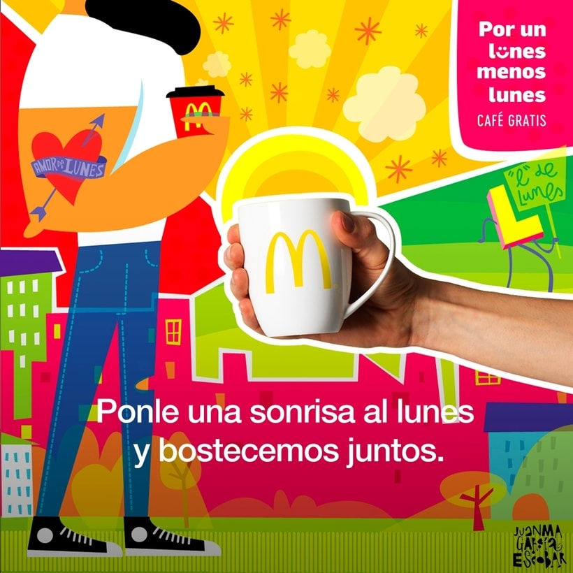 """McDonald's """"Por un lunes  menos lunes"""" 3"""