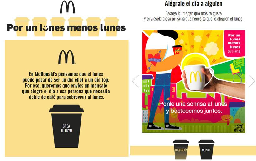 """McDonald's """"Por un lunes  menos lunes"""" 4"""