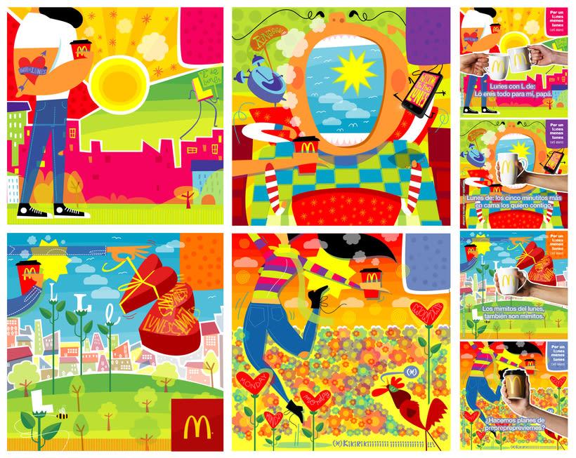 """McDonald's """"Por un lunes  menos lunes"""" 5"""