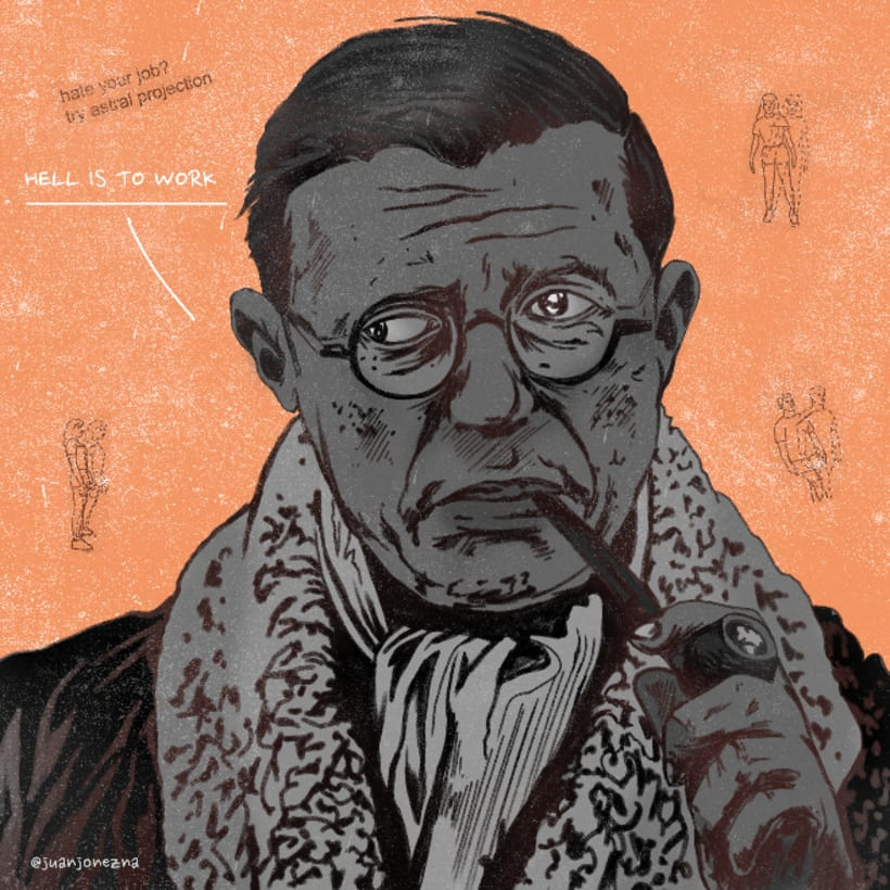 ¡Sartre cabrón! 0