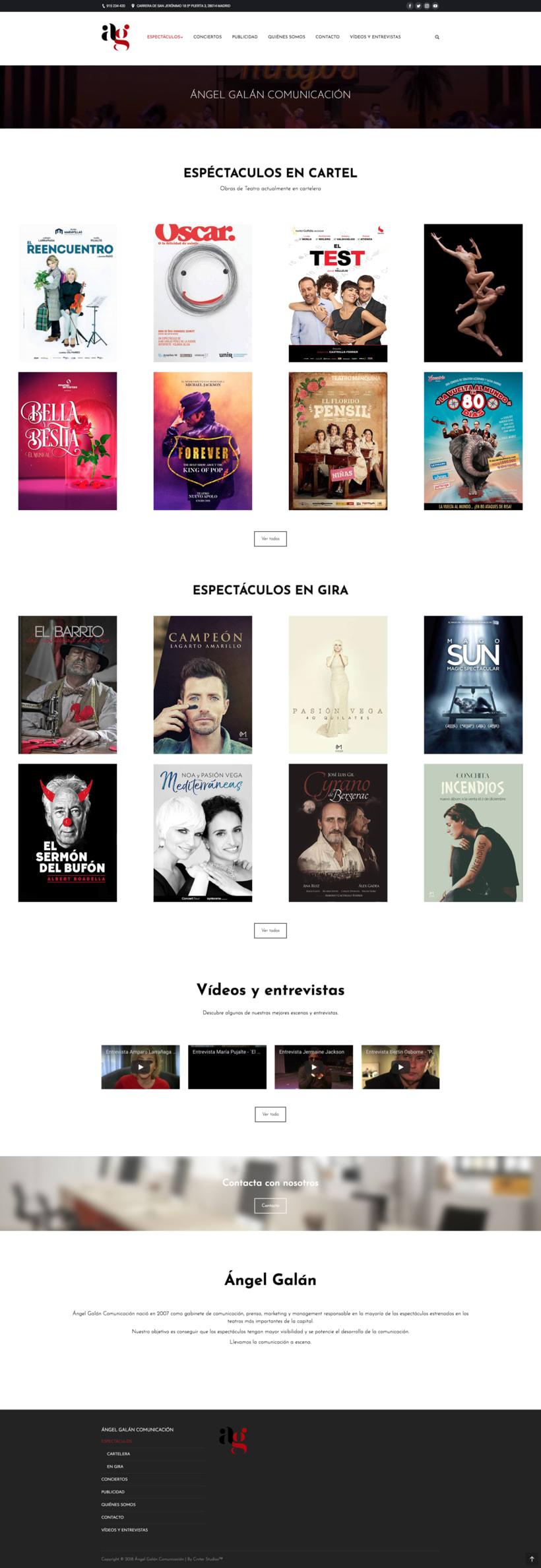 Web - Ángel Galán Comunicación 3