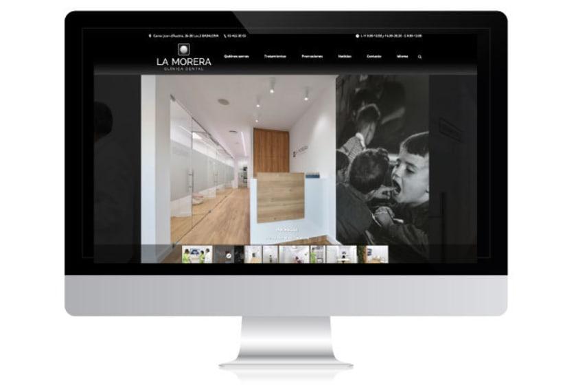 Diseño web para Clínica Dental 2