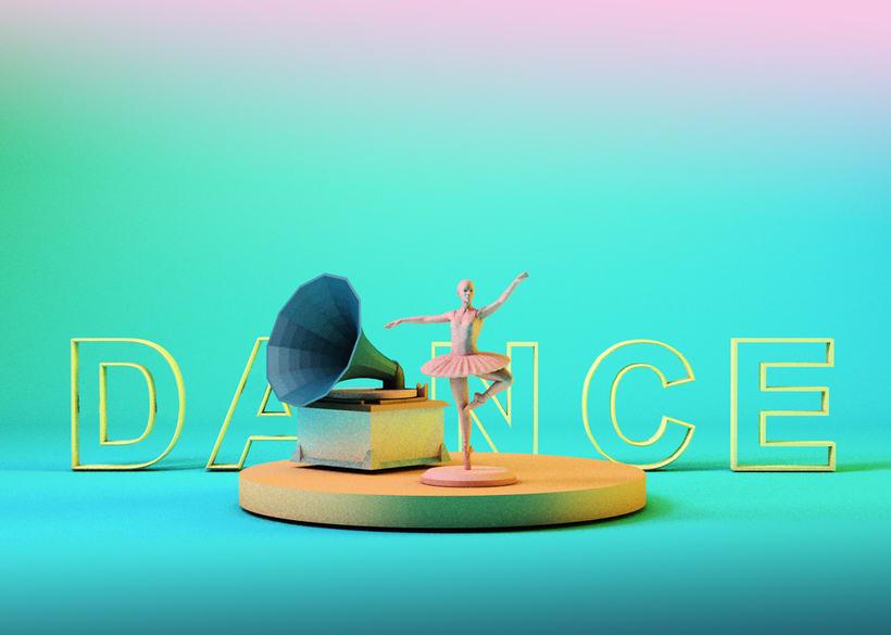 Mi Proyecto del curso: Introducción exprés al 3D: de cero a render con Cinema 4D -1