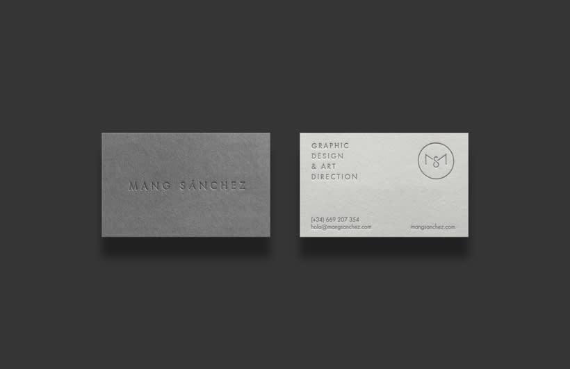 M  A  N  G  ·  Self branding project 4