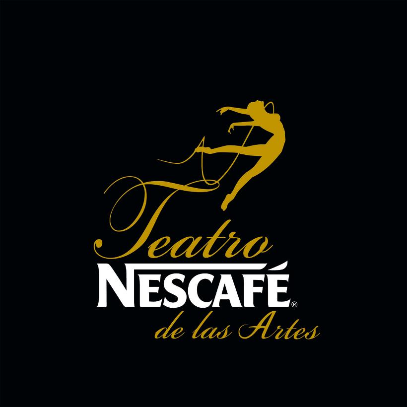 Teatro NESCAFE  logo+ Brand 0