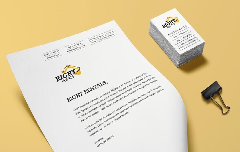 RIGHT RENTALS / MAQUINARIA PESADA PRA RENTAR -1