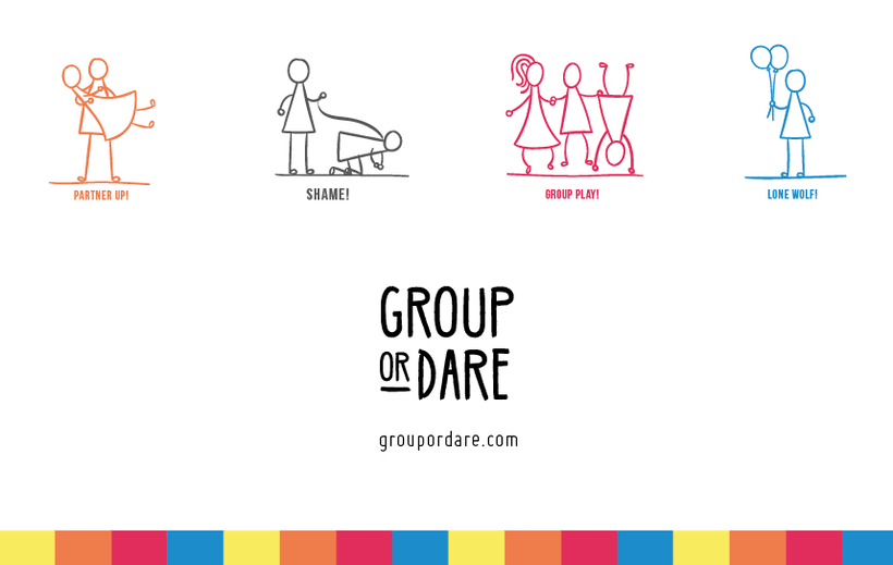 GROUP OR DARE / CARDS GAME 1