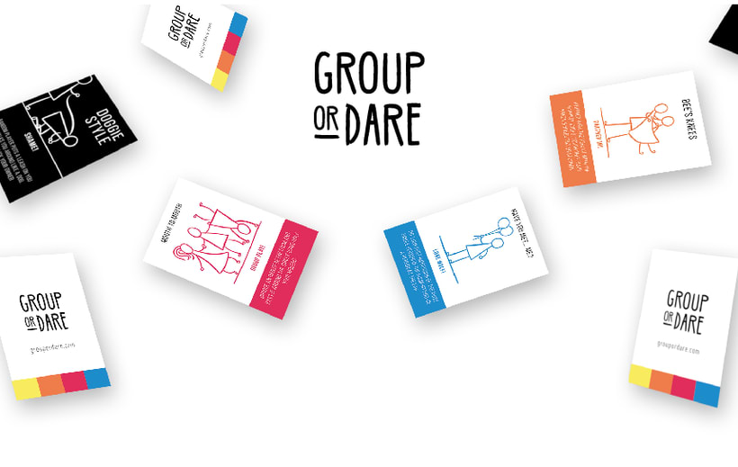 GROUP OR DARE / CARDS GAME 2