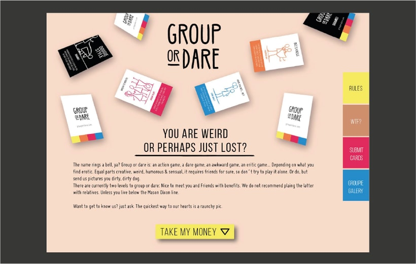 GROUP OR DARE / CARDS GAME 4
