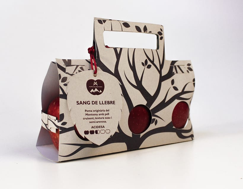 Packaging Project: Pomes del Montseny -1