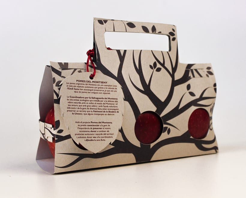Packaging Project: Pomes del Montseny 0