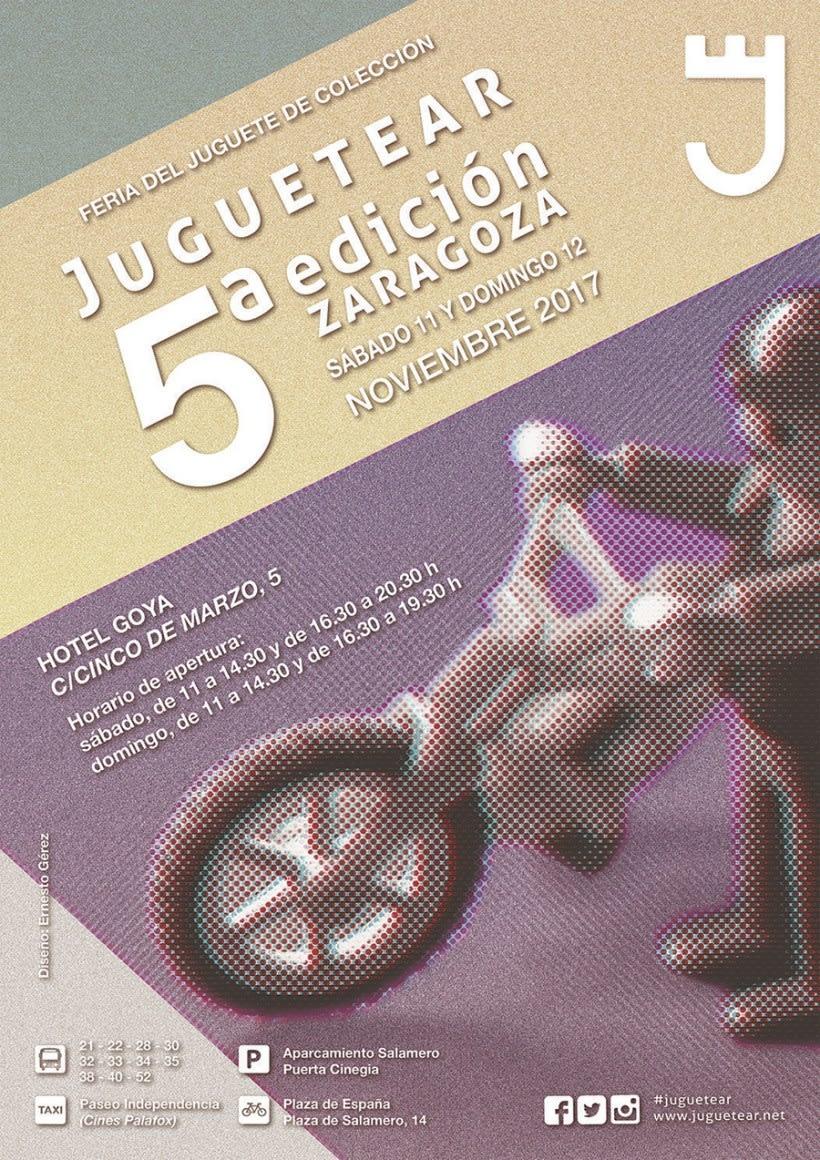 POSTER JUGUETEAR 5ª EDICIÓN (ZARAGOZA) 1