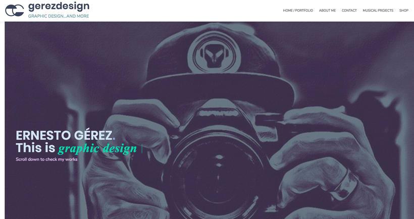 GÉREZ DESIGN - LOGO / BRANDING / WEB 1