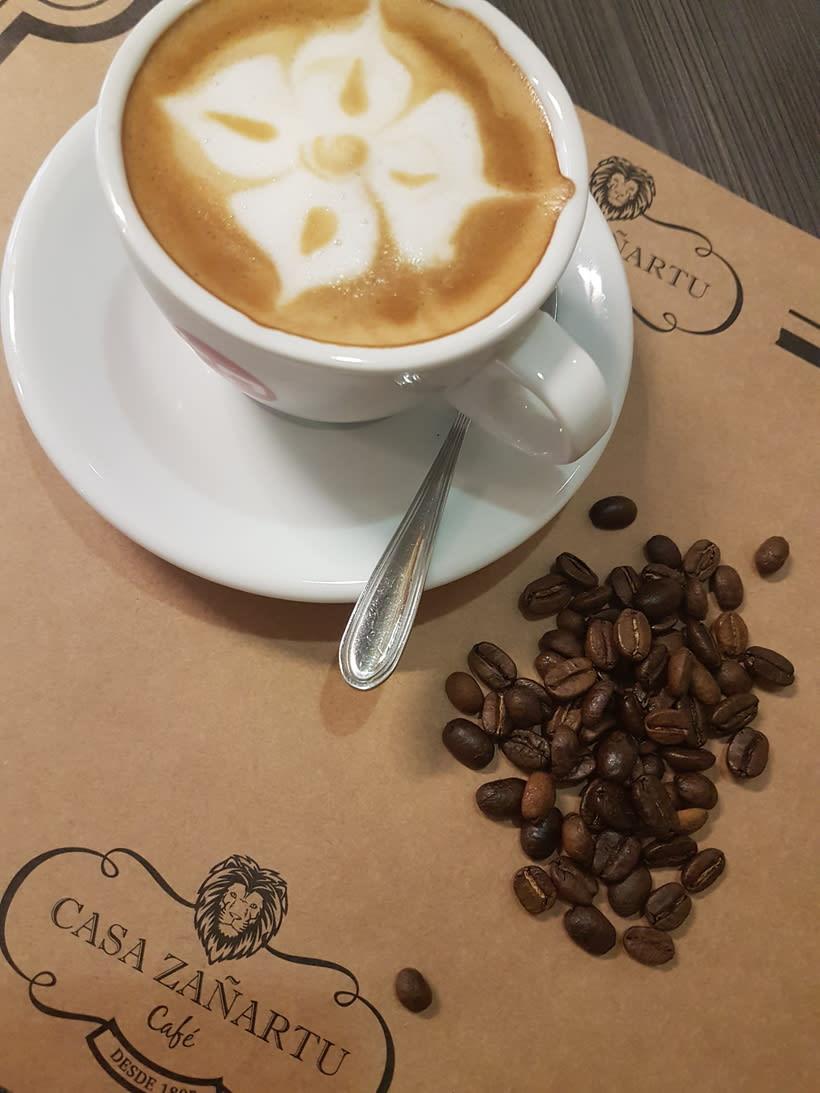CAFETERÍA CAFÉ CASA ZAÑARTU. 0