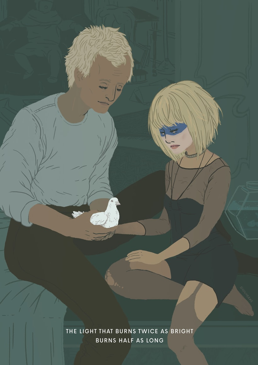 Blade Runner - Roy and Pris 1