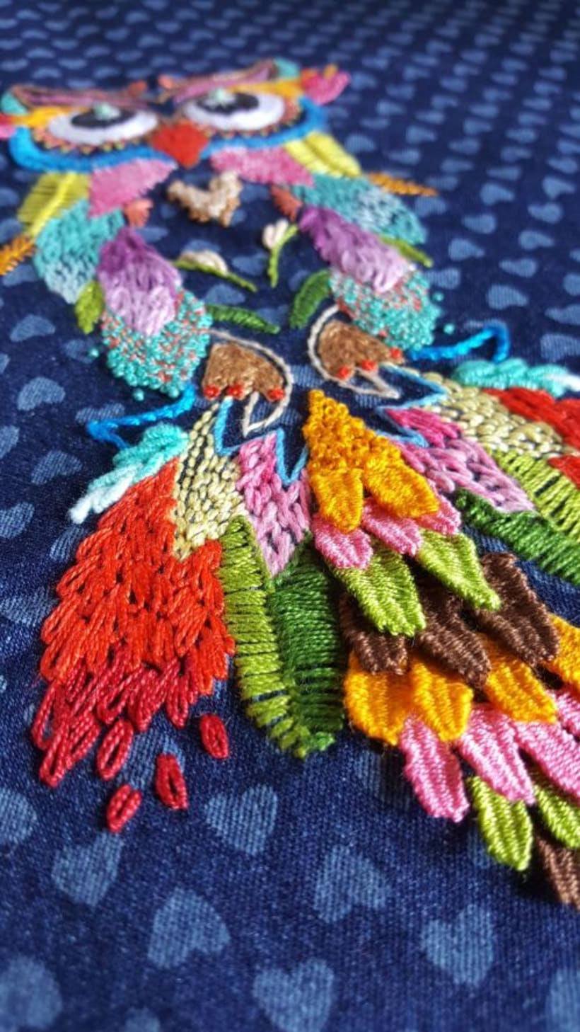 Buho multicolor 2