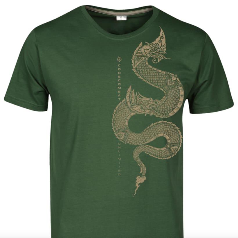 Camiseta para Core Combat Unlimited (artes marciales) 0