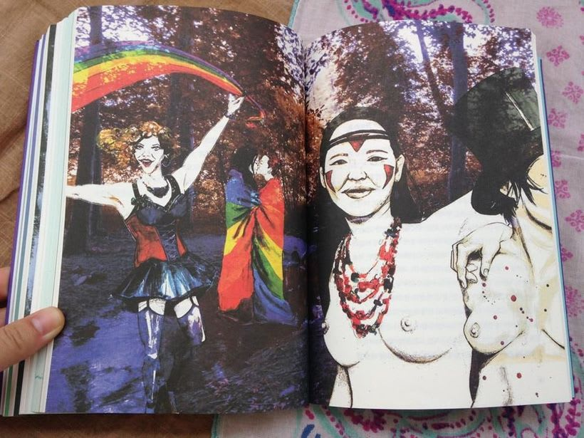 Book illustration: For more freedom in feminism 10