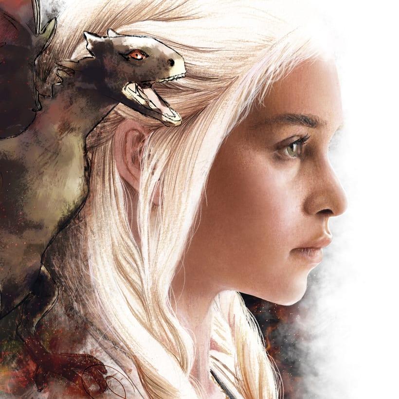 Juego de tronos: Daenerys 3