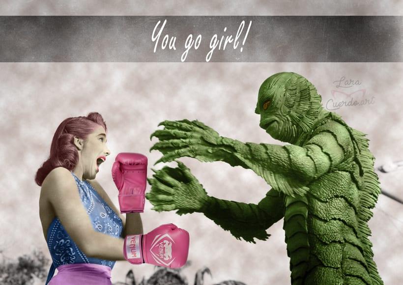 """Retoque fotográfico y composición """"YOU GO GIRL"""" 0"""