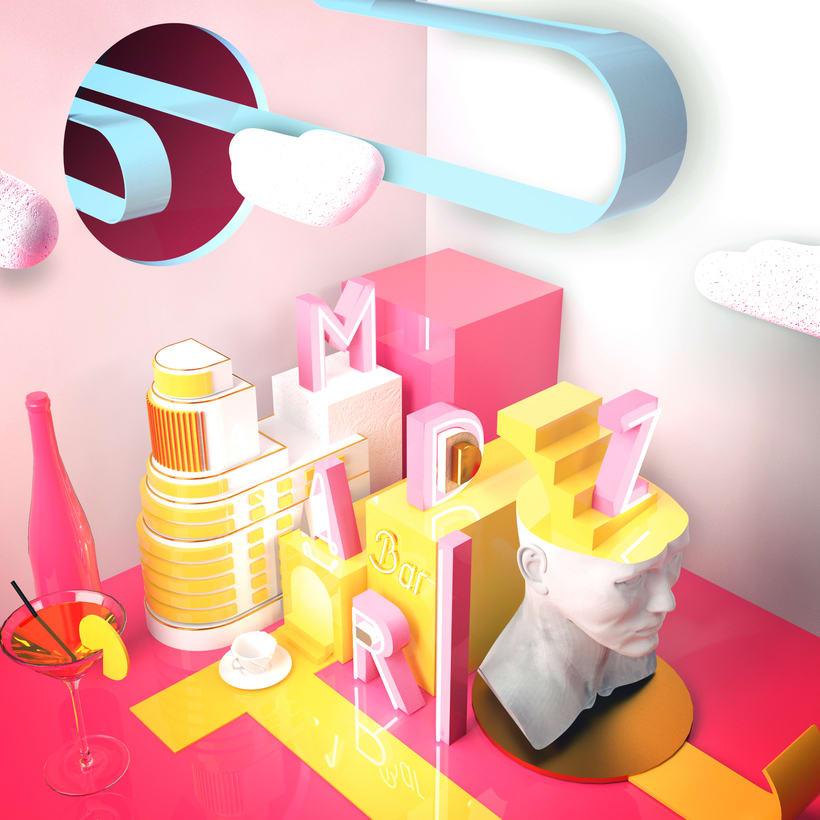 Meu projeto do curso: Dirección de Arte con Cinema 4D -1
