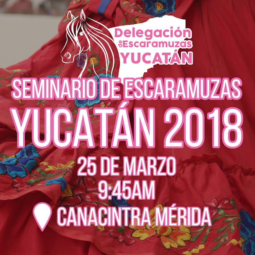 [Promocional] Seminario Escaramuzas Yuc 2018 -1