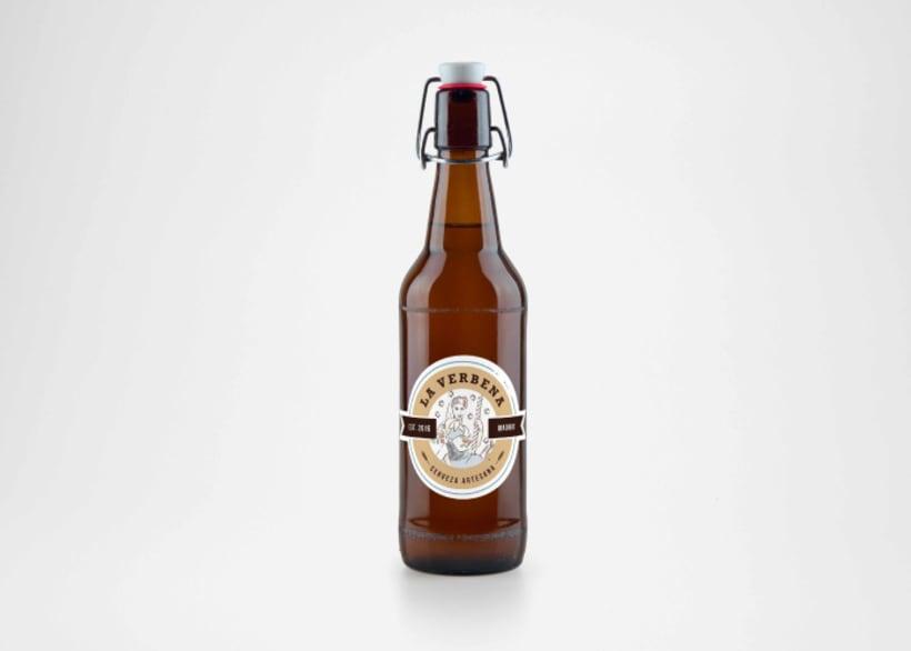 "Cerveza ""La verbena"" -1"