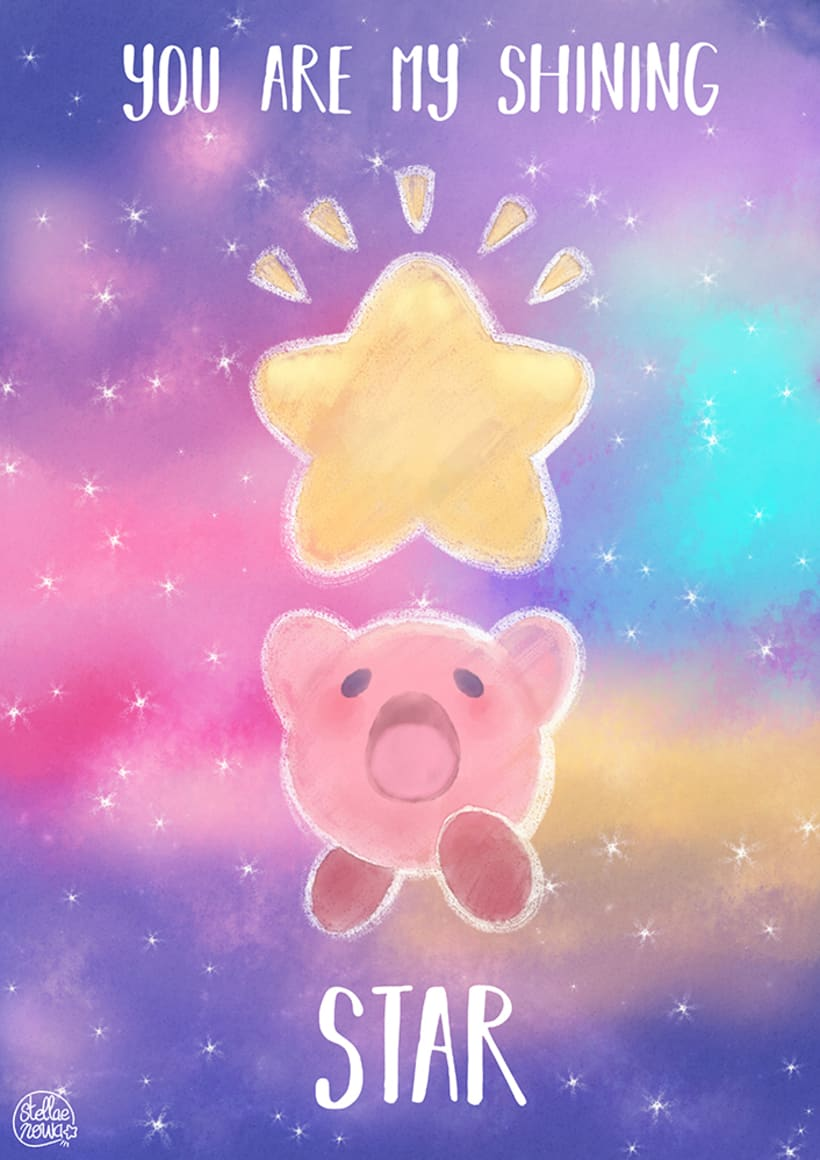 Postal Kirby 25th Anniversary 0