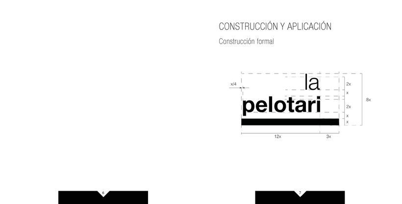 Manual de identidad visual corporativa Hotel la pelotari 2