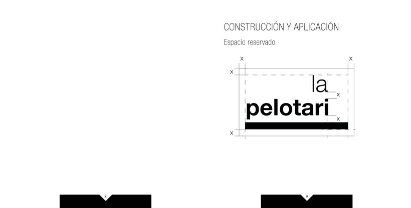 Manual de identidad visual corporativa Hotel la pelotari 3