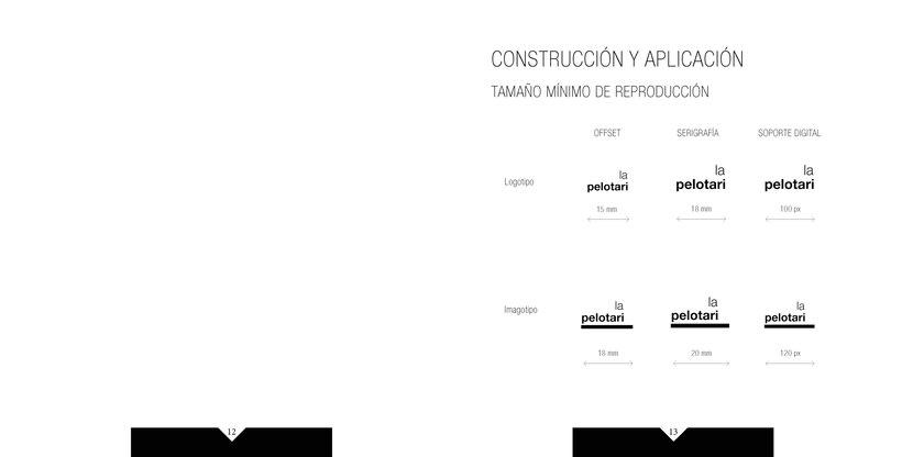 Manual de identidad visual corporativa Hotel la pelotari 5