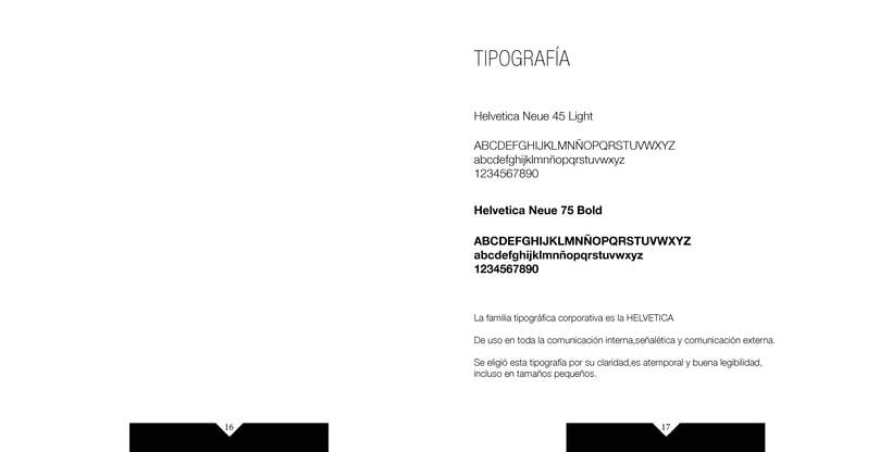 Manual de identidad visual corporativa Hotel la pelotari 7